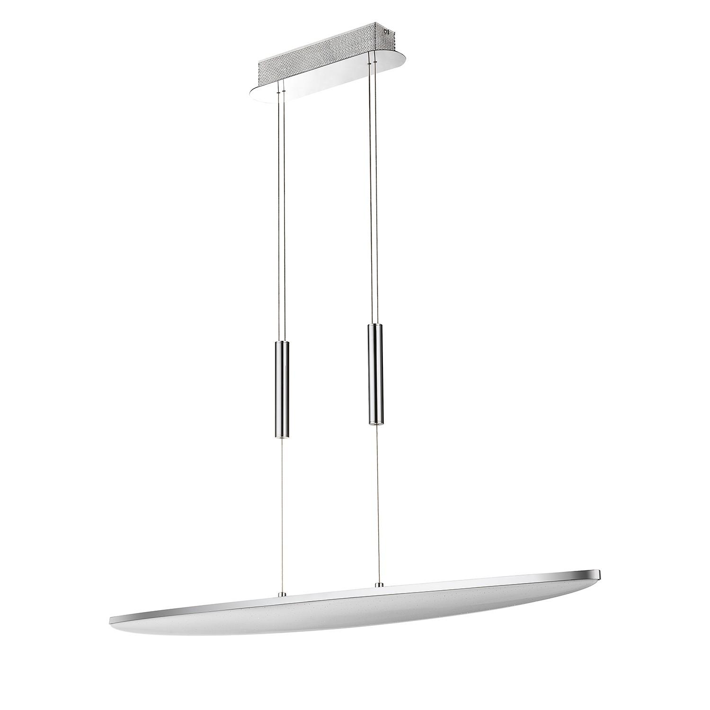 EEK A+, LED-Pendelleuchte Galax - Metall / Acrylglas, Wofi