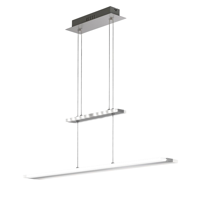 EEK A+, LED-Pendelleuchte Mission - Metall / Acrylglas, Wofi