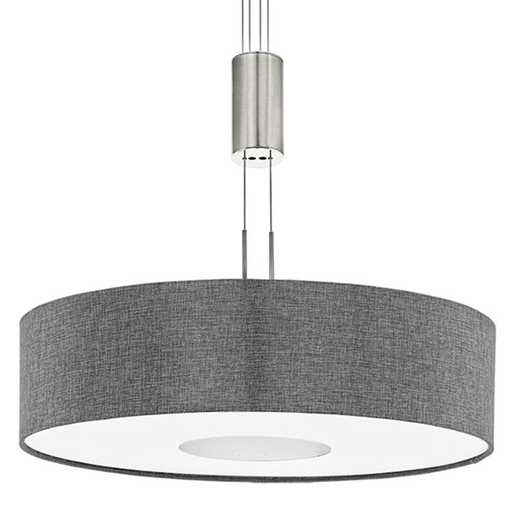 EEK A+, LED-Pendelleuchte Romao I - Leinen / Stahl - 1-flammig -  bei Home24 - Lampen