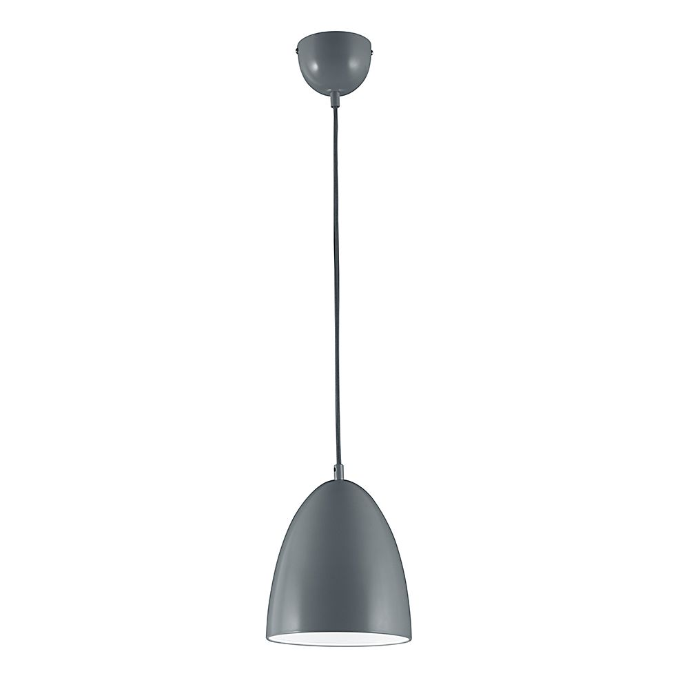 energie  A+, LED-hanglamp - grijs 1x6,5W, Trio