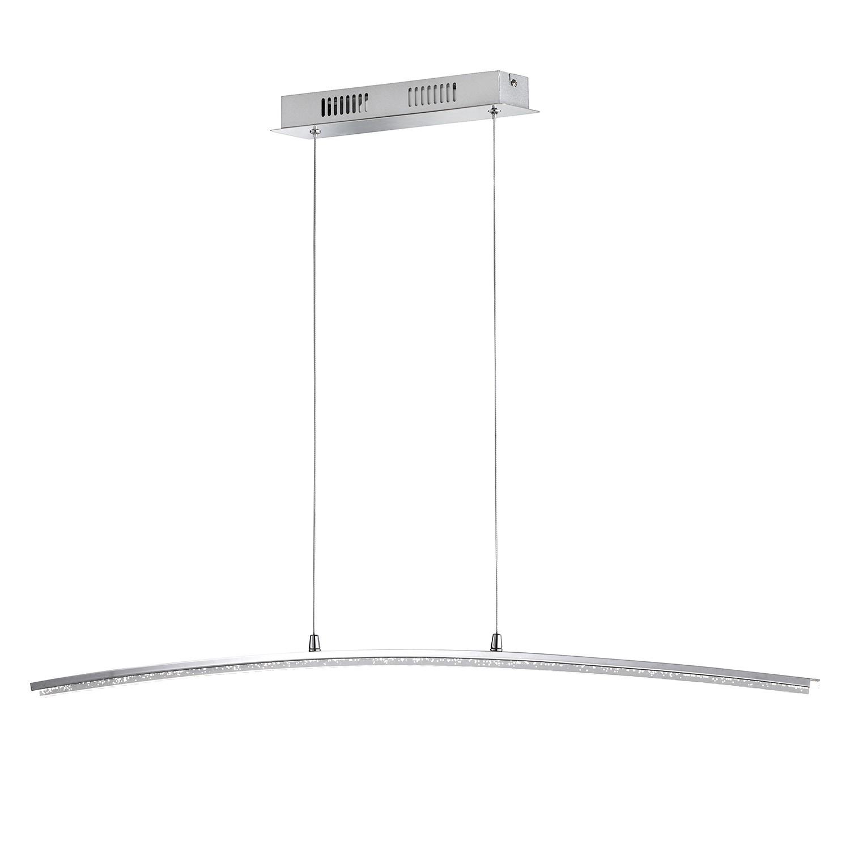 EEK A+, LED-Pendelleuchte Sorel - Metall / Acrylglas, Wofi