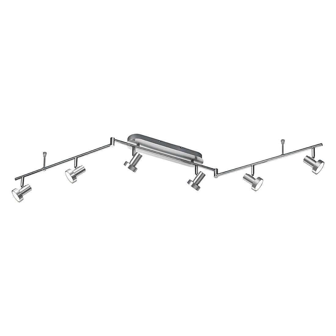 energie  A+, LED-rails - aluminium 6x5W, Trio