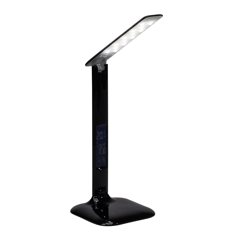 EEK A+, LED-Schreibtischleuchte Glenn - Kunststoff - 1-flammig, Brilliant