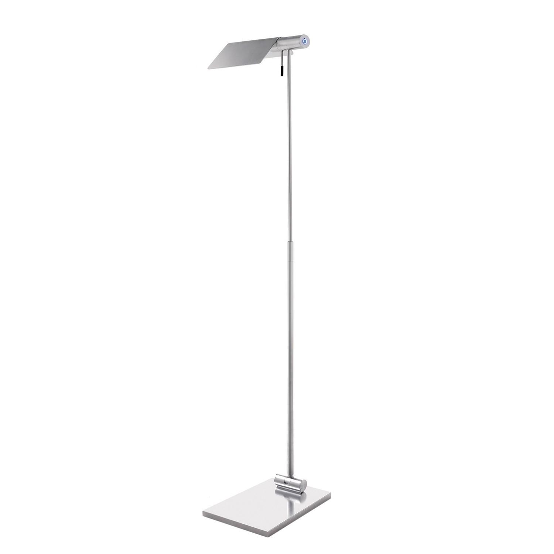 energie  A+, Staande LED-lamp Attik by Micron - aluminium - zilverkleurig, Lampadina