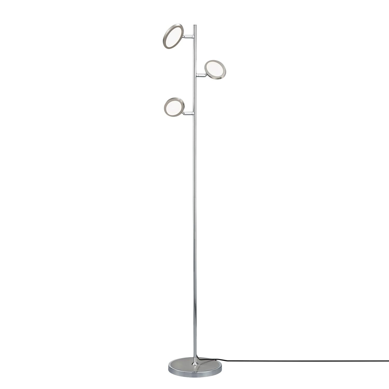 EEK A+, Lampadaire LED Duellant - Plexiglas / Métal - 3 ampoules, Trio