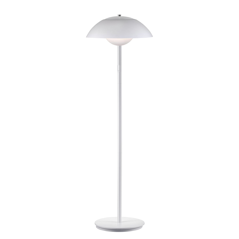 energie  A+, Staande LED-lamp Elevate II - kunststof/staal - 1 lichtbron - Wit, Nordlux