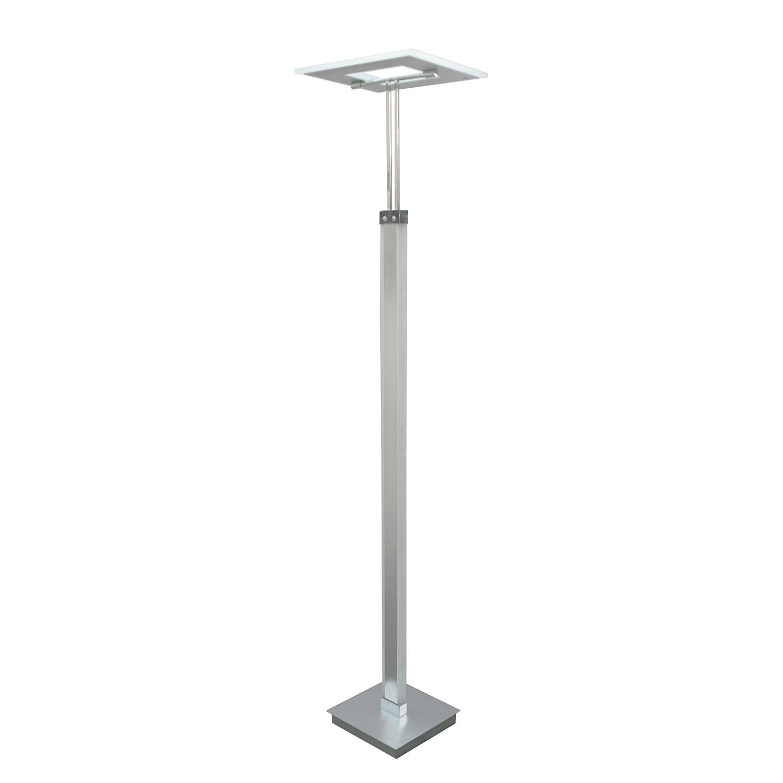 energie  A+, Staande LED-lamp Genk - glas/metaal - 3 lichtbronnen, Wofi