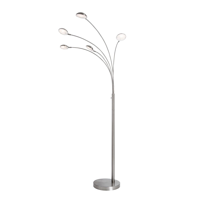 EEK A++, Lampadaire LED Mio - Métal / Verre - 5 ampoules, Loistaa