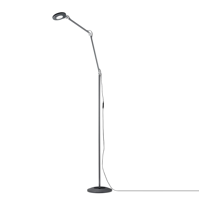 EEK A+, Lampadaire LED Roderic - Métal - 1 ampoule - Anthracite, Trio
