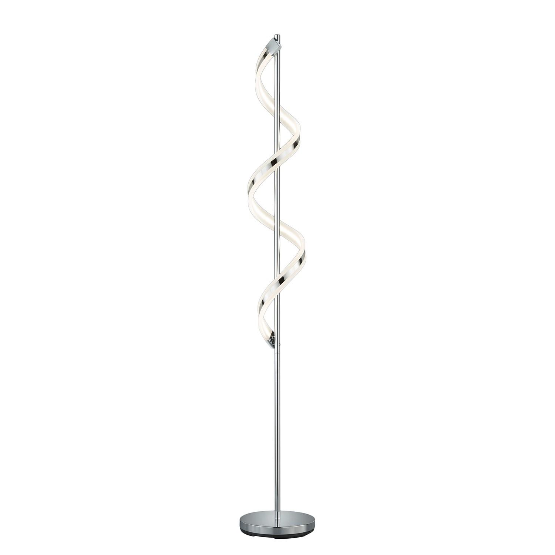 EEK A+, Lampadaire LED Sydney - Plexiglas / Métal - 1 ampoule, Trio