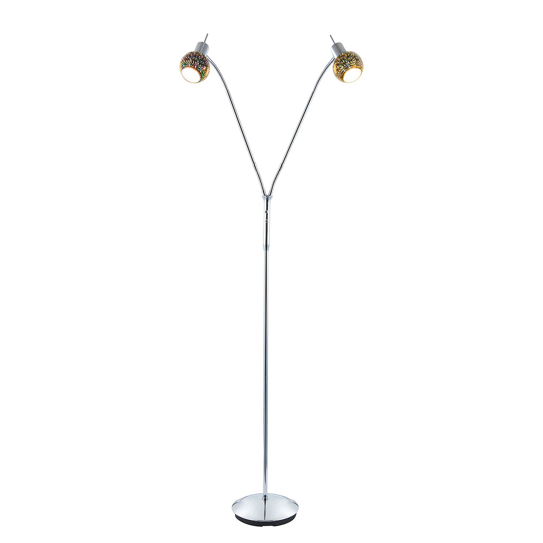 EEK A++, Lampadaire LED Firework - Plexiglas / Métal - 2, Nino Leuchten