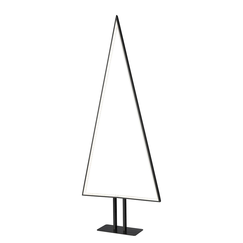 EEK A+, Lampadaire LED Pine - Aluminium - 1 ampoule - Noir mat, Sompex