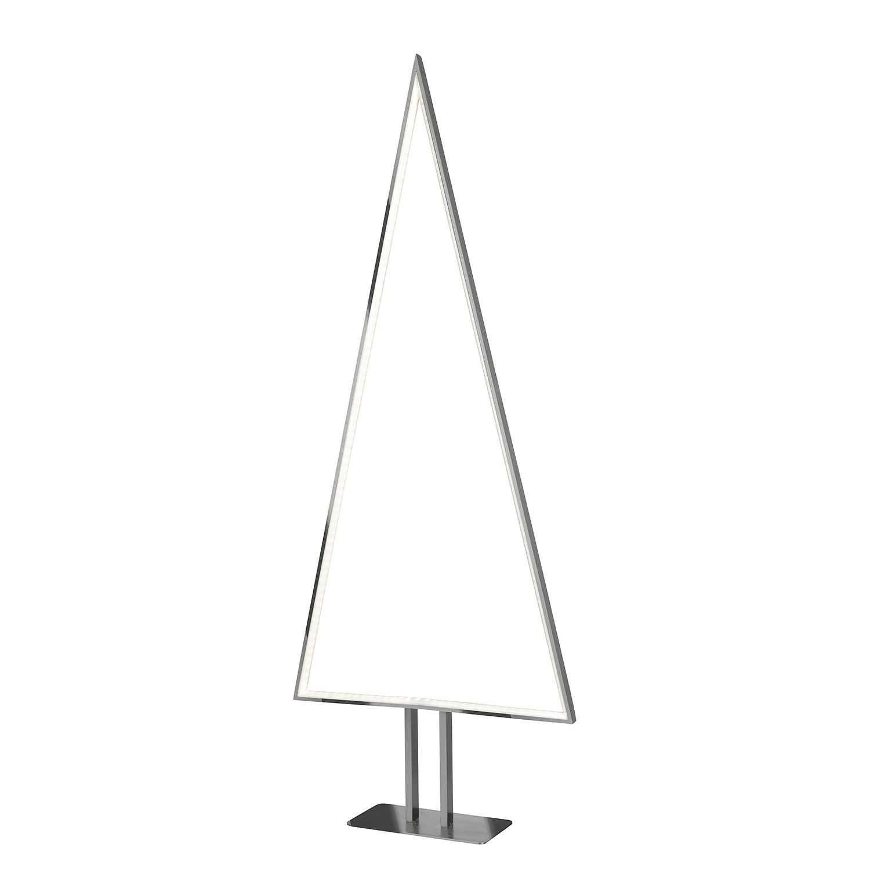 energie  A+, Staande LED-lamp Pine - aluminium - 1 lichtbron - Mat zilverkleurig, Sompex