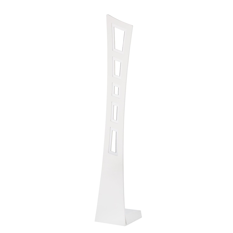 EEK A+, Lampe de table LED Eva - Aluminium Blanc 90 ampoules, Lampadina