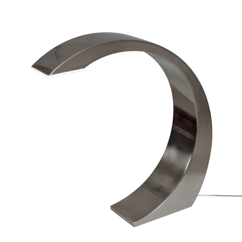 EEK A+, LED-Tischleuchte - Metall - Silber, Näve bei Home24 - Lampen