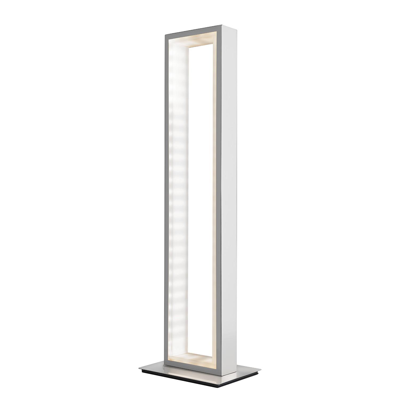 energie  A+, LED-tafellamp Otti - zilverkleurig metaal satijn, Sompex