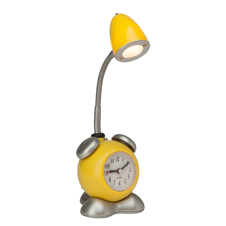 energie  A+, LED-tafellamp Pharrell - metaal geel 1 lichtbron, Brilliant