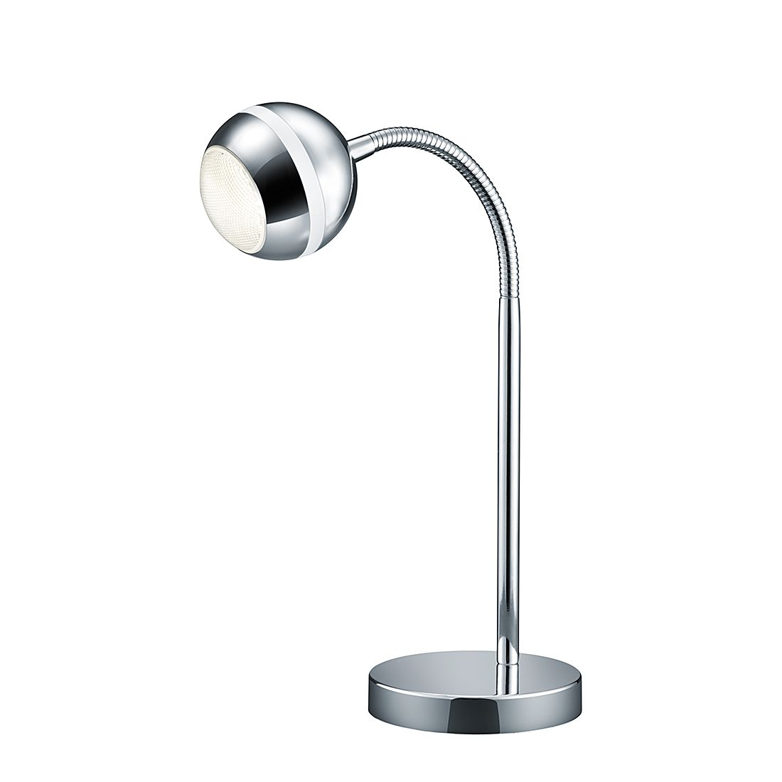 energie  A+, LED-tafellamp - chroomkleurig 1 lichtbron, Trio