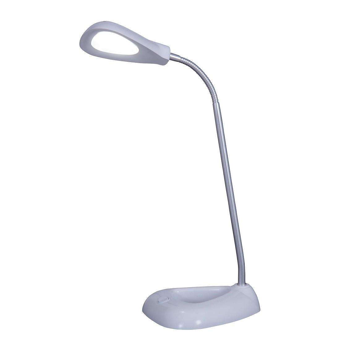 LED-tafellamp Tom - kunststof/metaal wit, Näve