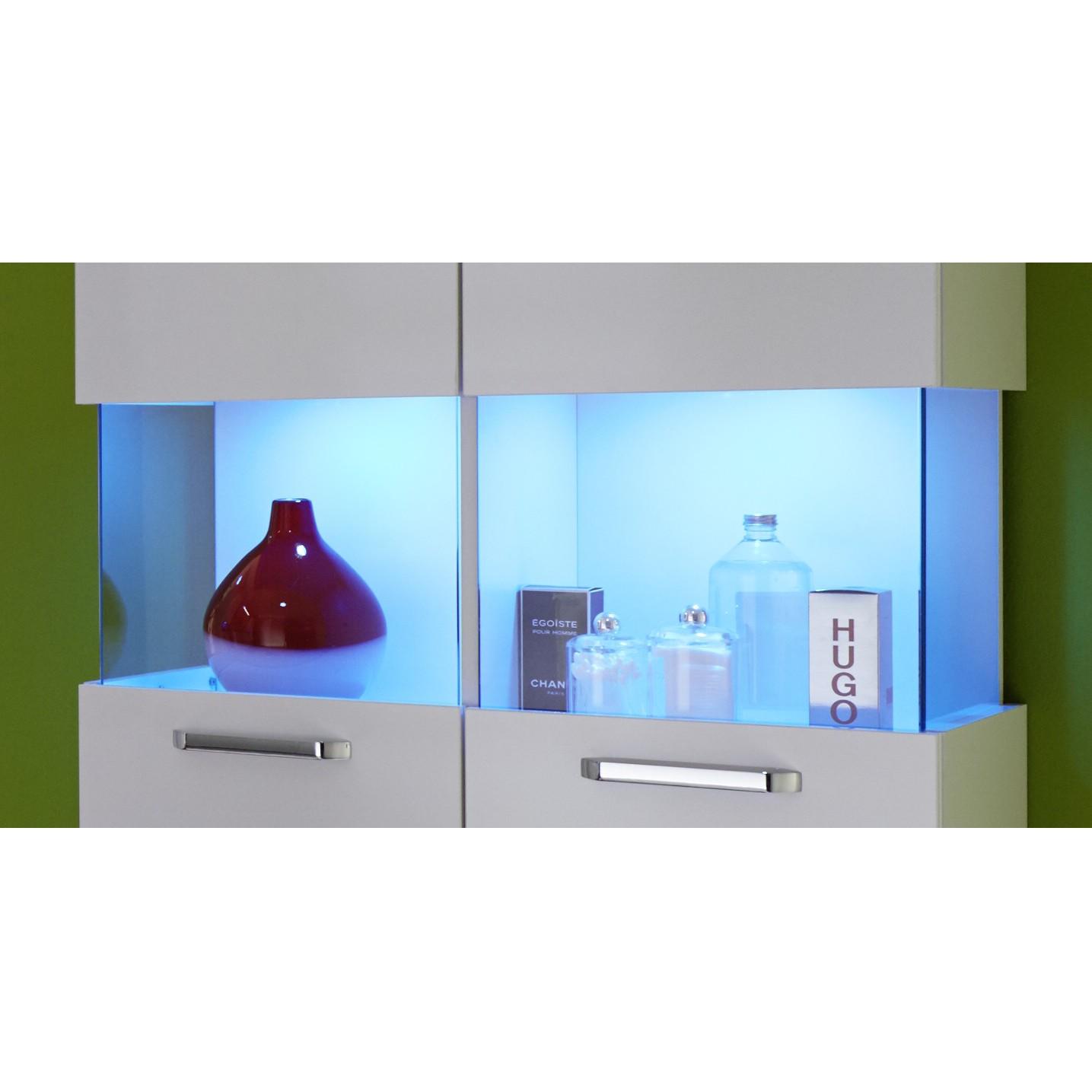 energie  A+, Inbouwspots Shine (LED) - 2-delige set wisselend licht - inclusief transformator en snoer - Set van 1, Trendteam