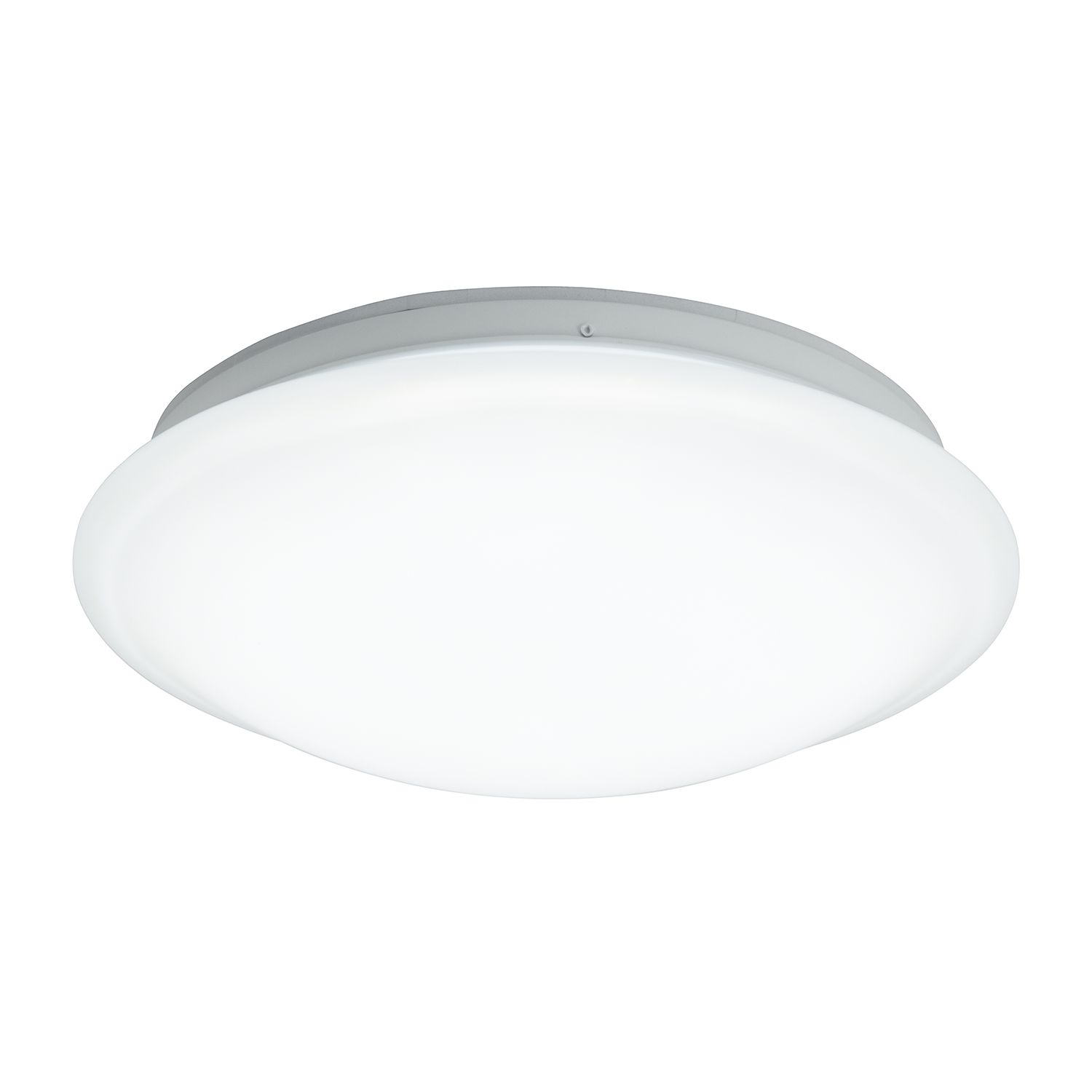 energie  A+, LED-wand-/plafondlamp Equinox - metaal wit 1 lichtbron, Brilliant