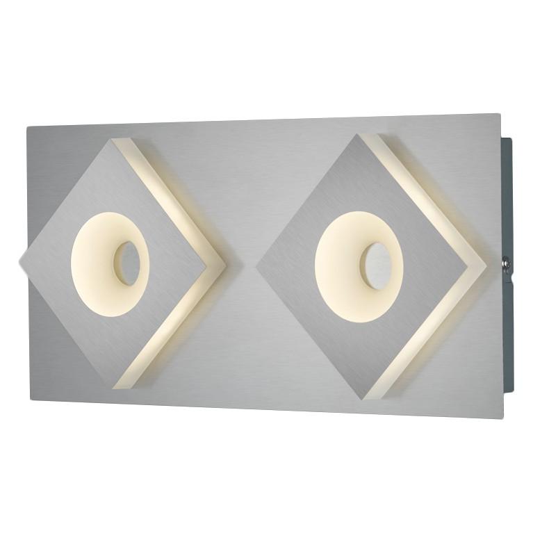 energie  A+, LED-wandlamp Easley - plexiglas/metaal - 2, Trio