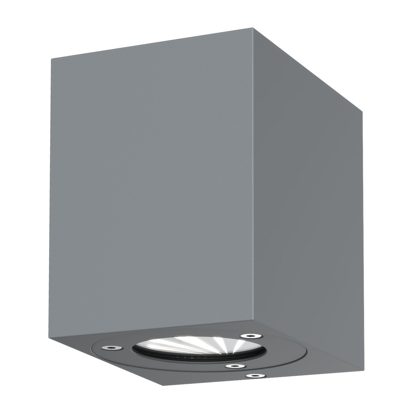 energie  A+, LED-buitenlamp Kanto - glas/staal - 2 lichtbronnen - Grijs, Nordlux