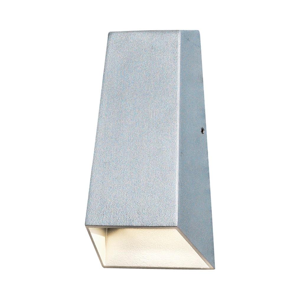 EEK A+, LED Wandleuchte Imola Up & Down - Aluminium/Kunststoff - 2-flammig, Konstsmide