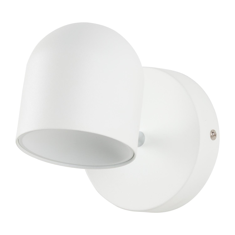 LED-Wandleuchte Jon - Eisen - 1-flammig - Weiß