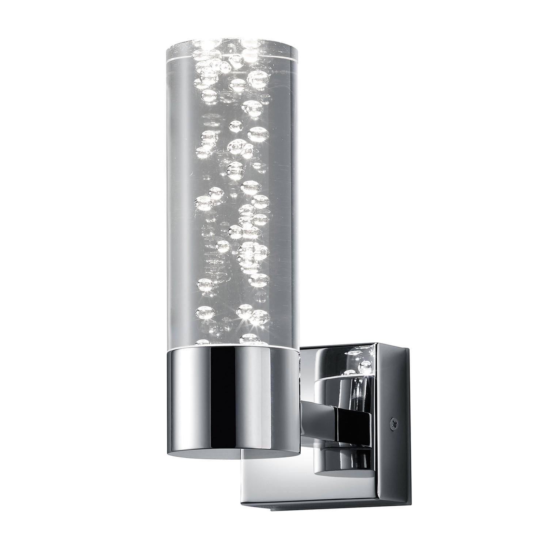 energie  A+, LED-wandlamp Bolsa - plexiglas/metaal - 1, Trio