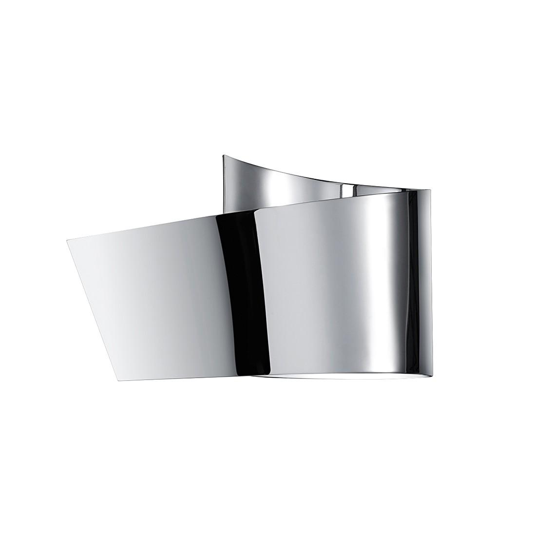 energie  A+, LED-wandlamp - chroomkleurig metaal 1 lichtbron, Trio