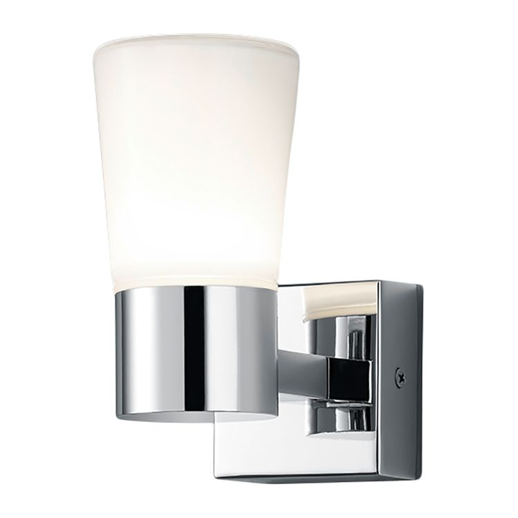 energie  A+, LED-wandlamp Nevio - glas/metaal - 1, Trio
