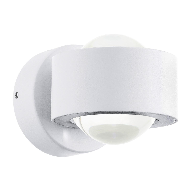 EEK A+, LED-Wandleuchte Ono - Aluminium / Kunststoff - 2-flammig, Eglo