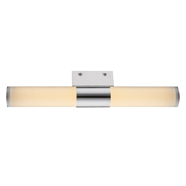energie  A+, LED-wandlamp Harrow - acryl/chroom - 1 lichtbron, Globo Lighting