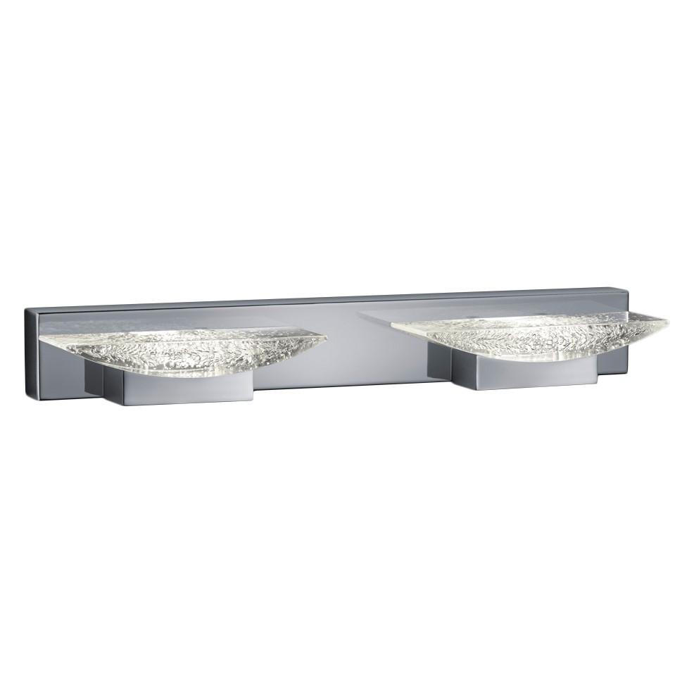 energie  A+, LED-wandlamp Helen - plexiglas/metaal - 2, Trio
