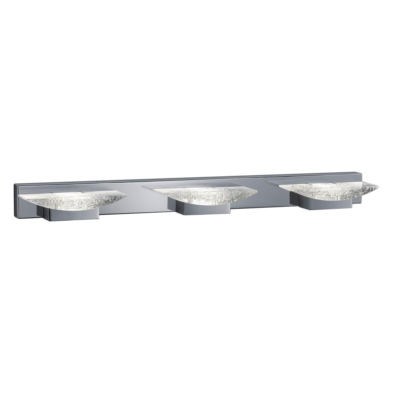 energie  A+, LED-wandlamp Helen - plexiglas/metaal - 3, Trio