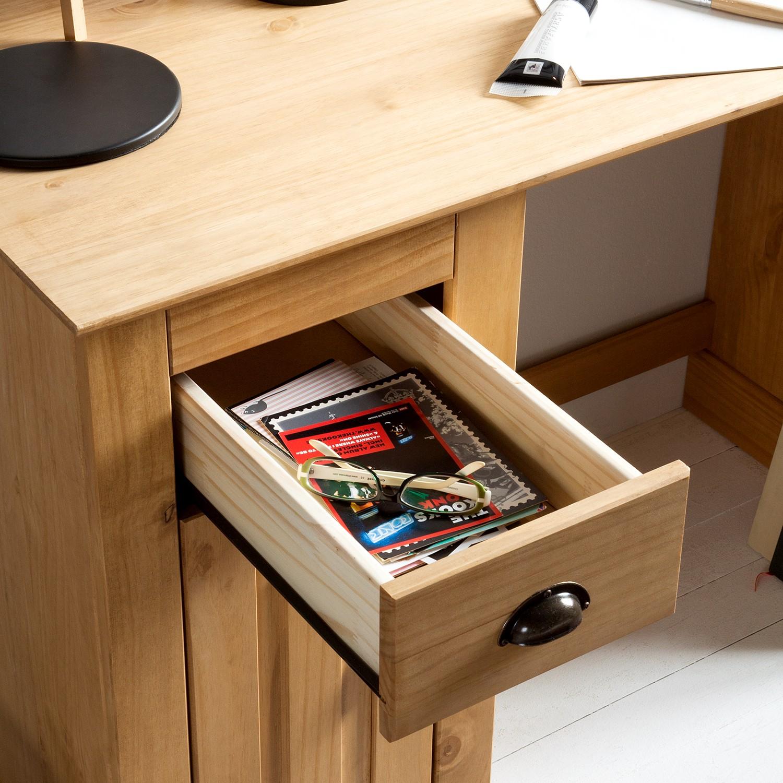 Schreibtisch neely kiefer b rotisch arbeitstisch for Pc schreibtisch kiefer