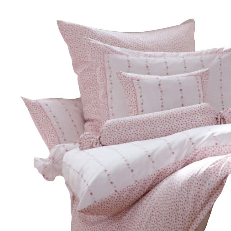 Home 24 - Parure de lit réversible mako - satin romantico ? rose - 135 cm x 200 cm, janine