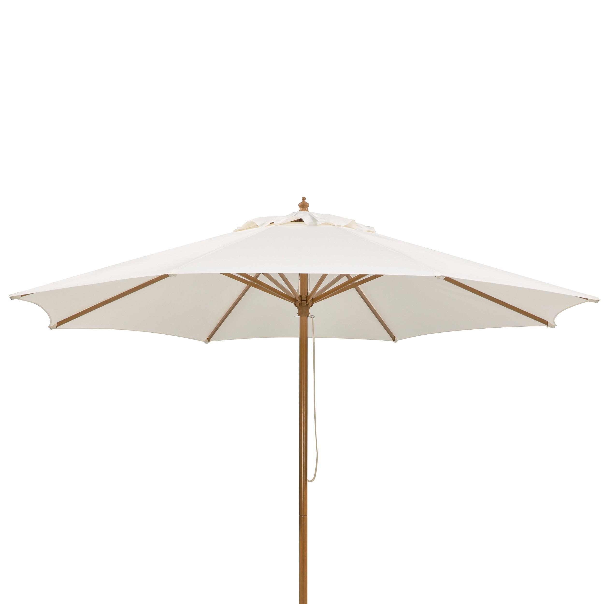 Parasol Malaga - aluminium/natuurkleurig polyester, Schneider Schirme