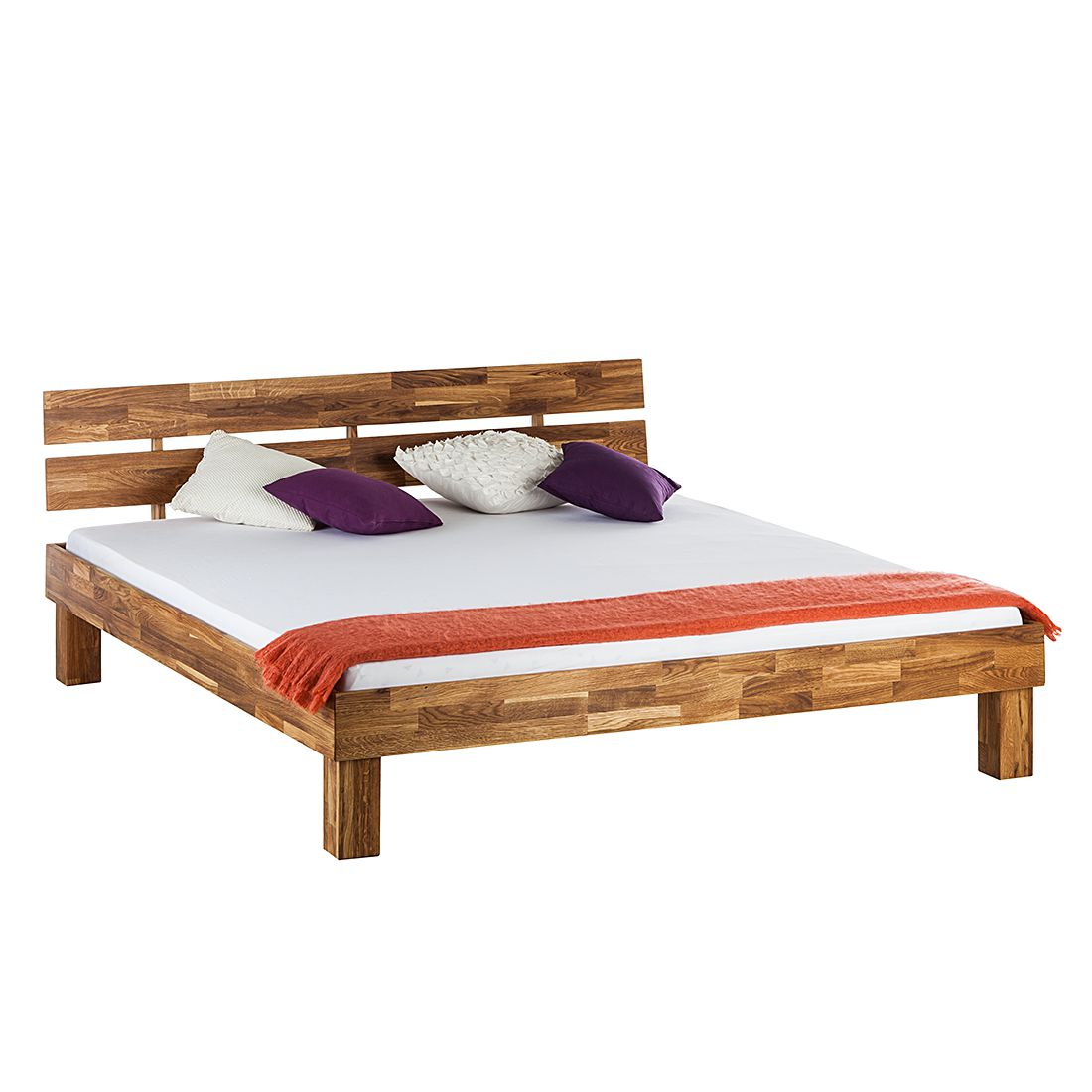 Boxspringbett Holz Eiche ~ Bett Massiv Holz Eiche  Preisvergleiche, Erfahrungsberichte und Kauf