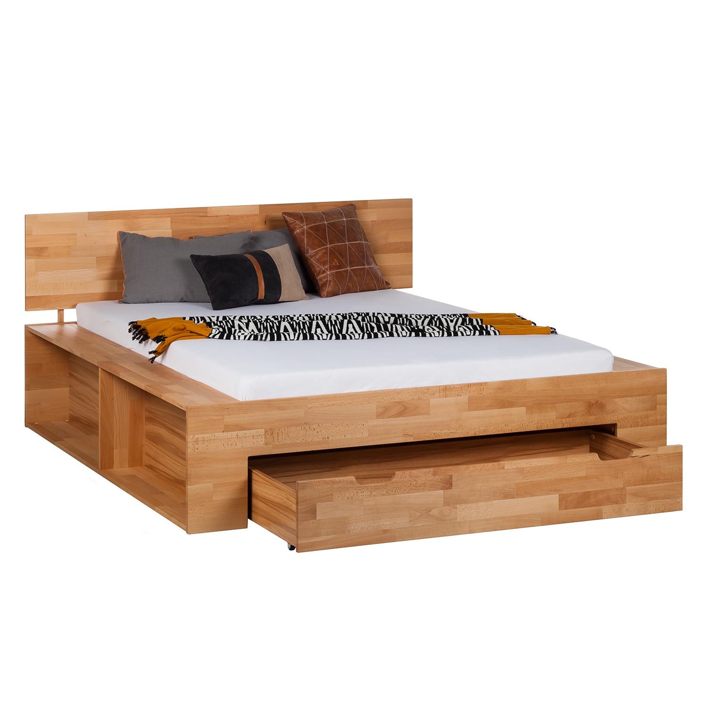 Meubels - Massief houten platform bed ...