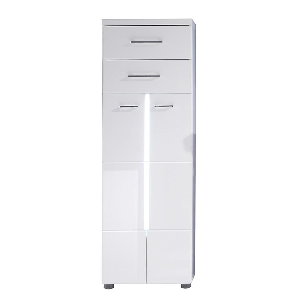 EEK A+, Armoire midi Storm Light - Blanc, Trendteam