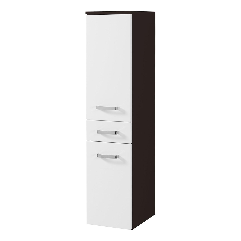 Armadietto Zeehan - Bianco/Grigio, Giessbach