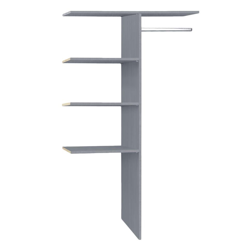 Tussenschot - grijs - 110cm, Wimex