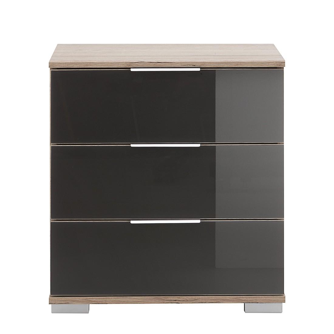 nachtkastje grijs kopen online internetwinkel. Black Bedroom Furniture Sets. Home Design Ideas