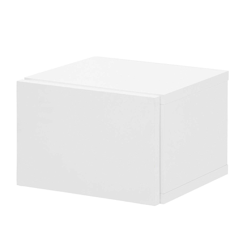 Nachtkastje Elodea - Wit, loftscape