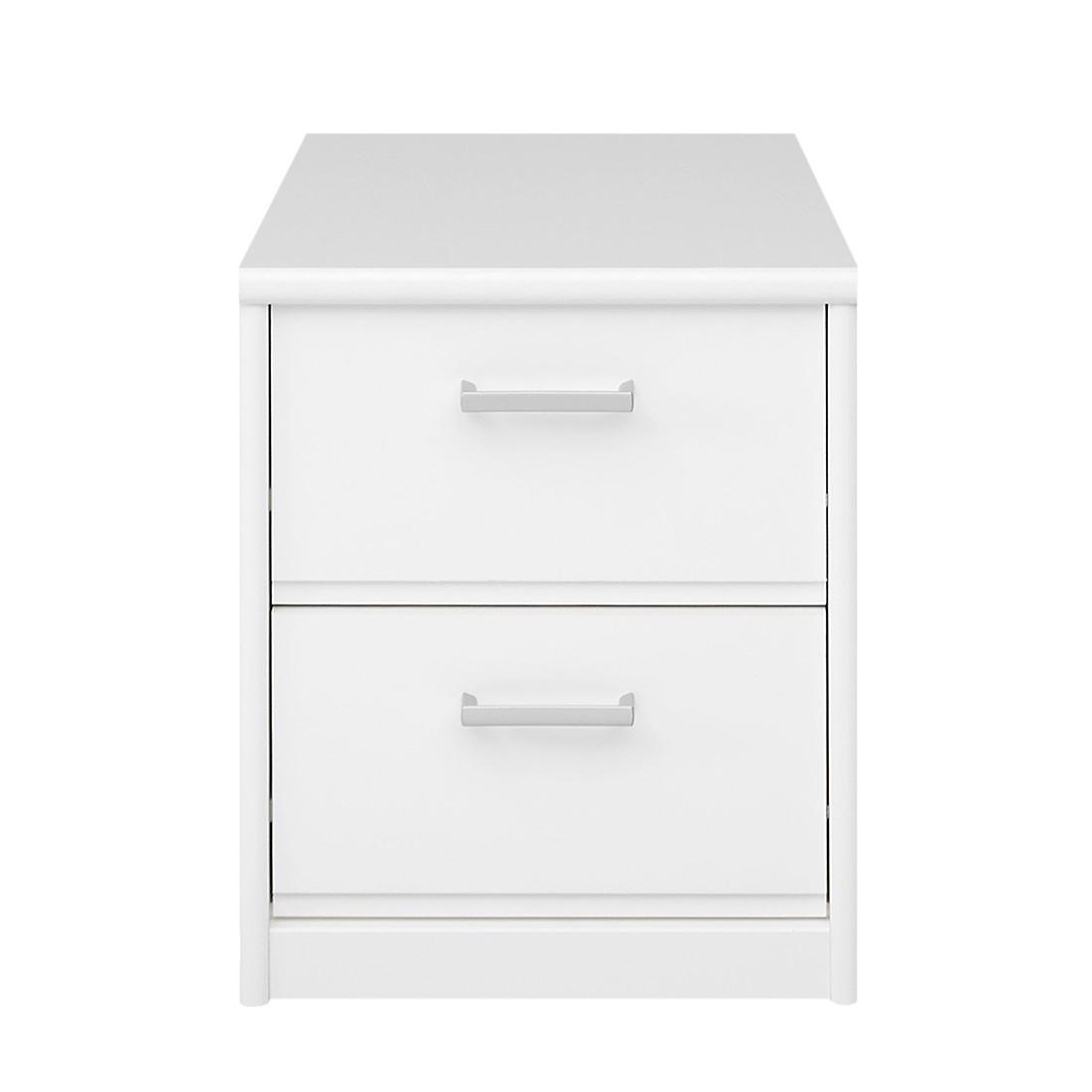 Comodino Soft Plus - Bianco, Cs Schmal