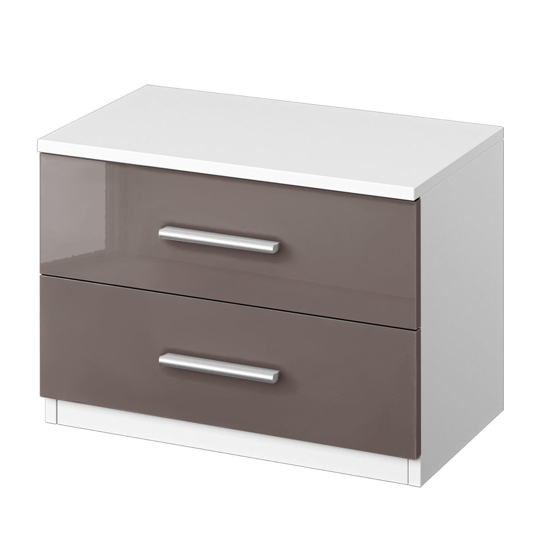 nachttisch hochglanz. Black Bedroom Furniture Sets. Home Design Ideas