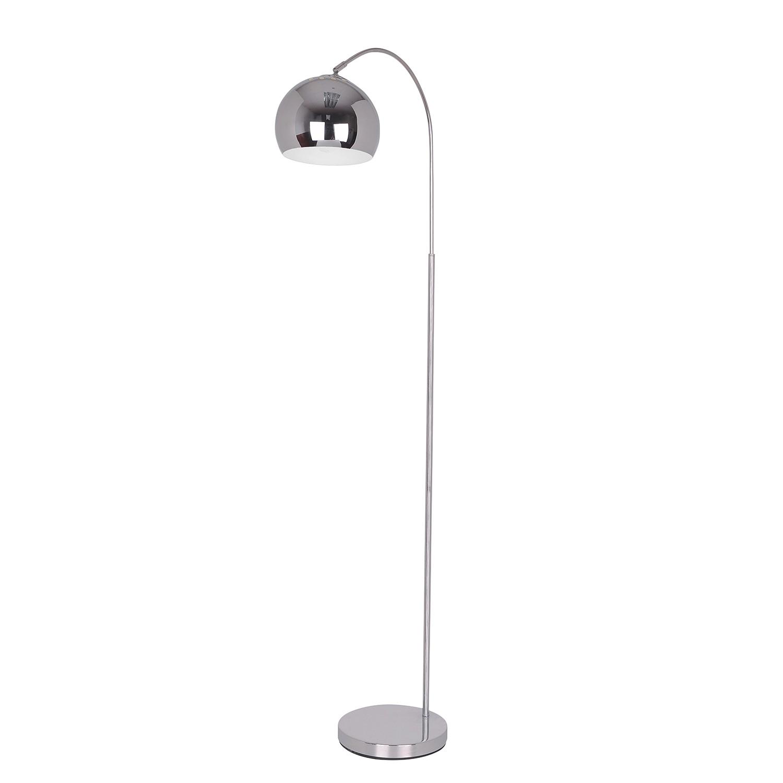 EEK A++, Lampadaire Ufo - Chrome - 1 ampoule, Näve