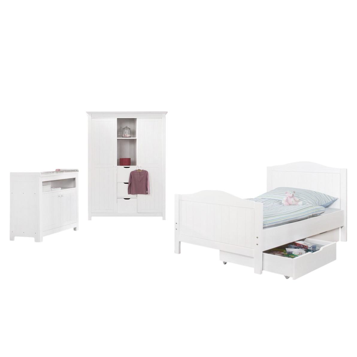 pinolino kleiderschrank nina preisvergleich die besten angebote online kaufen. Black Bedroom Furniture Sets. Home Design Ideas
